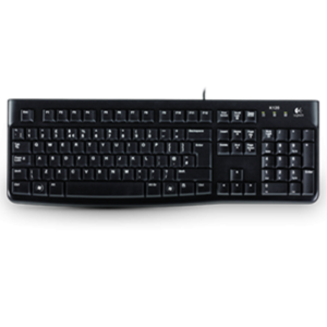 Keyboard Logitech K120, USB, Black OEM