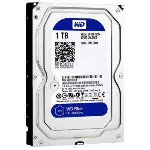 HDD 3,5″ 1 Tb SATA 64Mb Western Digital Caviar Blue WD10EZEX, 7200rpm, 6Gb/s