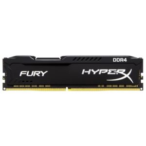 RAM DDR4-2400  4096MB Kingston HyperX FURY PC4-19200, CL15 Black HX424C15FB/4