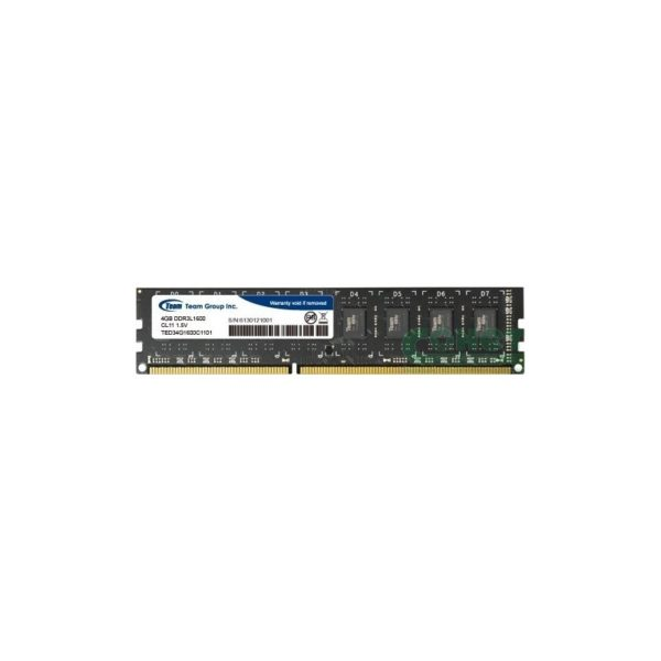 RAM DDR3-1600 4096 MB PC12800, CL11 TeamGroup Elite 1.5V/TED34G1600C1101