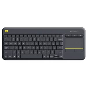 Keyboard Logitech K400 Plus Wireless, built-in touchpad
