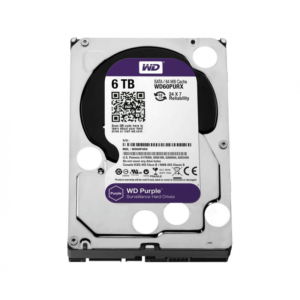 HDD 3,5″ 6 Tb SATA 64Mb Western Digital  WD60PURZ, Purple