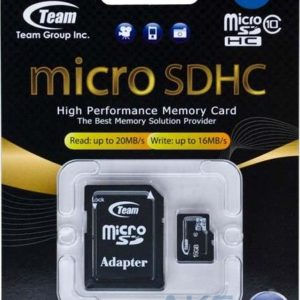 Micro SDHC Card 16GB Team, adapter C10, TUSDH16GCL1003