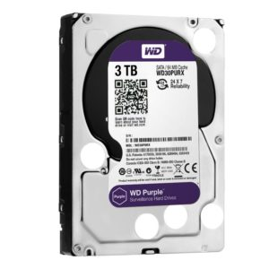 HDD 3,5″ 3 Tb SATA 64Mb Western Digital  WD30PURZ, Purple