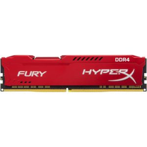 RAM DDR4-2400  8192MB Kingston Hyp Fury red PC4-19200, CL17 HX424C15FR2/8