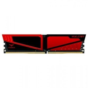 RAM DDR4-3000  8192MB Team Vulcan red PC4-2400, CL16/TLRED48G3000HC16CBK