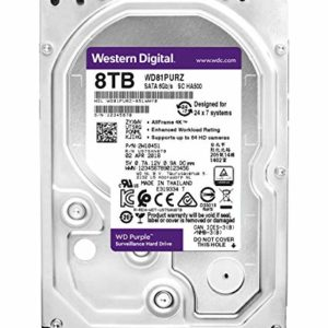 HDD 3,5″ 8 Tb SATA 256Mb Western Digital  WD81PURZ,Purple