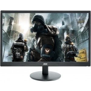 Monitor LCD 27″ AOC LED e2770sh Black