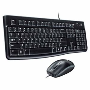 Keyboard & Mouse Logitech Desktop MK 120, Retail