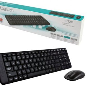 Keyboard & Mouse Logitech Wireless Desktop MK 220, Retail, 2.4GHz