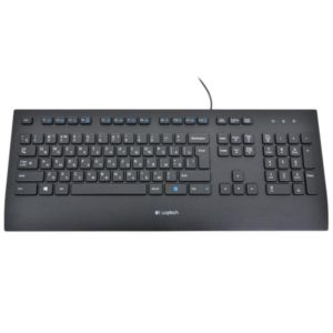 Keyboard Logitech K280e, USB, Black