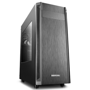 "Case w/o PSU ATX , DEEPCOOL ""D-SHIELD V2"" with Side-Window"