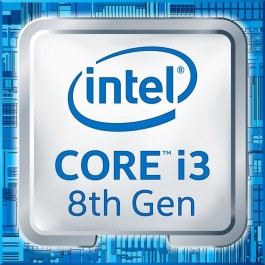 CPU Intel LGA1151 Core i3-8100 3,6GHz 6MB 65W tray