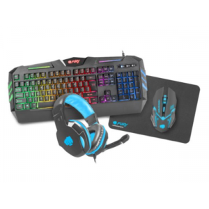 Keyboard+Mouse+ Mouse pad+Headset, Fury Thunderstreak Ru layout.,USB