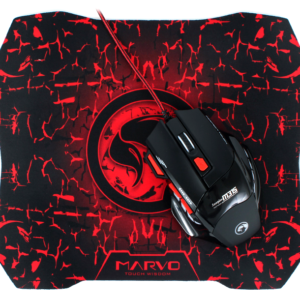 Mouse+Mouse Pad Marvo Combo M315G1 USB