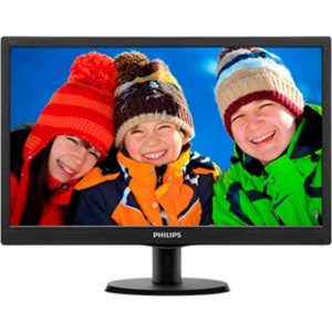 "PHILIPS ""193V5LSB2"", Black (1366×768, 200cd, 5ms, LED10M:1, D-Sub)"