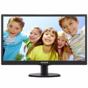 "Philips ""203V5LSB26"", Black (1600×900, 5ms, 200cd, LED10M:1)"