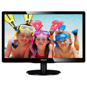 "Philips ""200V4LAB2"", G.Black (1600×900, 5ms, 200cd, LED10M:1, DVI, 2x2W)"
