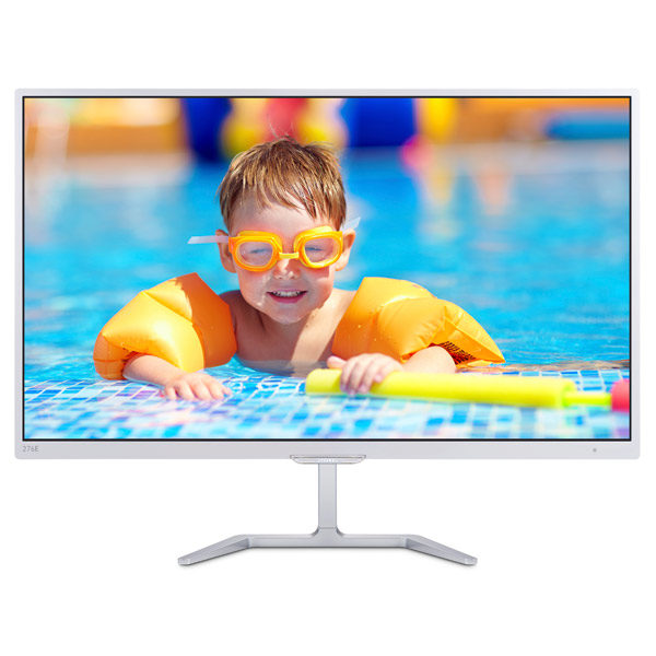 "Philips ""276E7QDSW"", G.White (PLS, 1920×1080, 5ms, 250cd, LED20M:1, HDMI, DVI,VGA)"