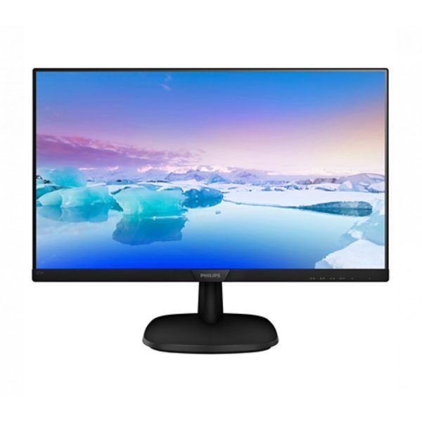"Philips ""273V7QDSB"", Black (IPS, 1920×1080, 5ms, 250cd, LED10M:1, D-Sub, DVI, HDMI)"