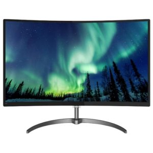 "PHILIPS ""328E8QJAB5"", G.Black (Curved-VA 1920×1080, AMD FreeSync, 5ms, 250cd, D-Sub+HDMI+DP)"