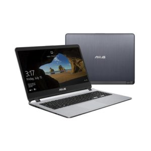 NB ASUS 15.6″ X507UA Grey (Core i3-6006U 4Gb 1Tb Win 10)