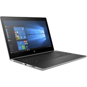 Laptop HP 250 G6 Dark Ash Silver, 15.6″ HD i3-7020U 4GB DDR4 RAM, 500GB HDD, Intel® HD Graphics 520