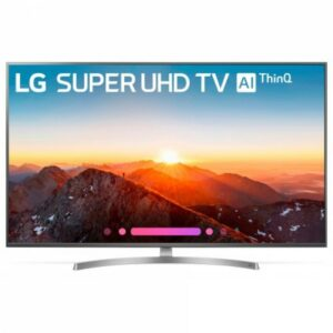 65″ LED TV LG 65SK8100PLA, Titanium (3840×2160 UHD, SMART TV, PMI 2900Hz, DVB-T/T2/C/S2)