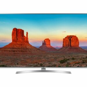 55″ LED TV LG 55UK6950PLB, Silver (3840×2160 UHD, SMART TV, PMI 2000Hz, DVB-T/T2/C/S2)