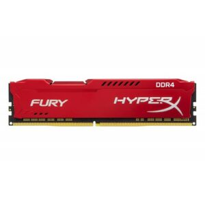 RAM DDR4-3200  8GB PC 25600 Kingston Hyper X Fury red C19 1,2V HX432C18FR2/8
