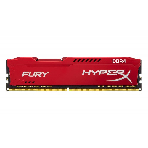 RAM DDR4-3200  8192MB Kingston Hyper X Fury red PC 25600 C19 1,2VHX432C18FR2/8