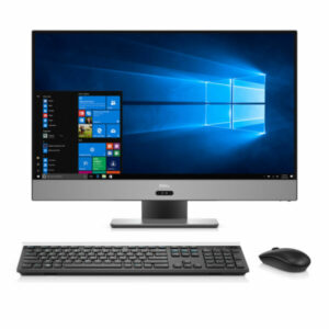 AIl-in-One PC – 27″ DELL Inspiron 7777 FHD IPS Infinity Touch, Intel¢î Core¢î i7-8700T up to 4.0GHz, 16GB DDR4, 256GB+1TB, NVIDIA¢î GeForce¢î GTX 1050 4GB, USB-C, Articulating Stand, FHD IR cam, Wi-Fi-AC/BT4.1, KM636 Wireless KB&MS, Ubuntu, Black