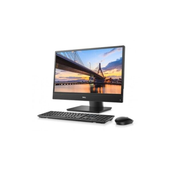 AIl-in-One PC – 21,5″ DELL Optiplex 5260 FHD lPS +W10Pro, Intel¢î Core¢î i5-8500 (Six Core, up to 4.10GHz, 9MB), 8GB DDR4 RAM, 256GB SSD, no ODD, Intel¢î UHD 630 Graphics, HD Webcam, Wi-Fi-AC/BT4.0, Height Adjustable Stand, USB KB&MS, Win 10 Pro, Black