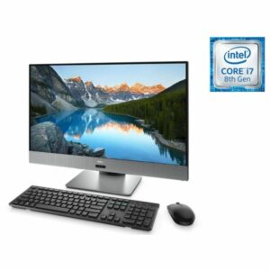 AIl-in-One PC – 27″ DELL Inspiron 7777 FHD lPS Infinity non-Touch, Intel¢î Core¢î i5-8400T up to 3.3GHz, 8GB DDR4, 128GB+1TB, NVIDIA¢î GeForce¢î GTX 1050 4GB, USB-C, Pedestal Stand, FHD IR cam, Wi-Fi-AC/BT4.1, KM636 Wireless KB&MS, Win 10 Pro, Black