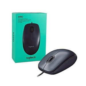 Mouse Logitech M90 Optical USB Grey
