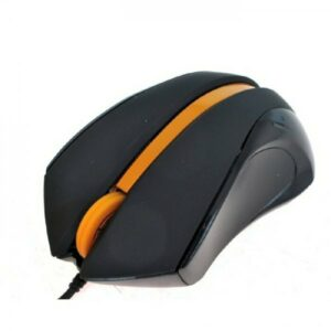 Mouse A4Tech N-310-1 USB Black+Orange