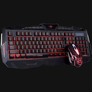 Keyboard & Mouse Marvo Combo KM400 Gaming Kit LED,USB