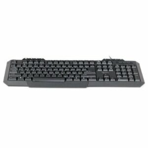 Keyboard Gembird KB-UM-105-RU Multimedia Black USB