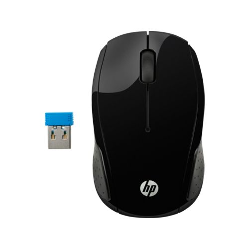 Mouse HP 200 Wireless Black