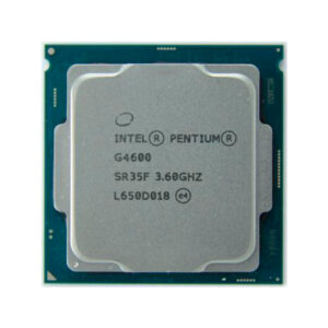 CPU Intel Pentium G4600 3.6GHz (2C/4T,DMI 8GT/s,3MB,S1151,14nm,51W,Integrated HD Graphics 630)Tray