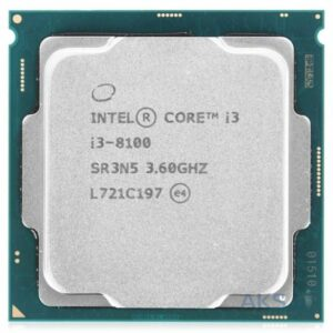 Procesor Intel Core i3-8100 3.6GHz (4C/4T,6MB, S1151,14nm,Intel Integrated UHD Graphics 630,65W) Tray