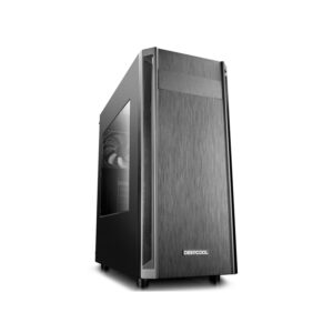 Case ATX Deepcool D-Shield V2, w/o PSU, Black Motherboards : ATX/M-ATX /Mini-ITX