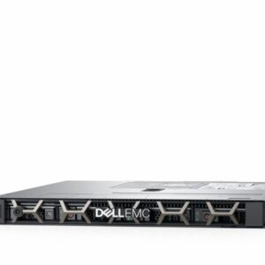 Dell PowerEdge R340 1U Rack, Intel Xeon E-2124 (3.3GHz,  8M Cache, 4C/4T, 71W), 8GB UDIMM DDR4 RAM, 1TB SATA Hot-plug HDD (up to 4 3,5″ Hot Plug HDD), PERC H330, no ODD, iDRAC9 Basic, LAN Dual Port 1GBE, TPM 1.2, Single Hot Plug 350W PSU