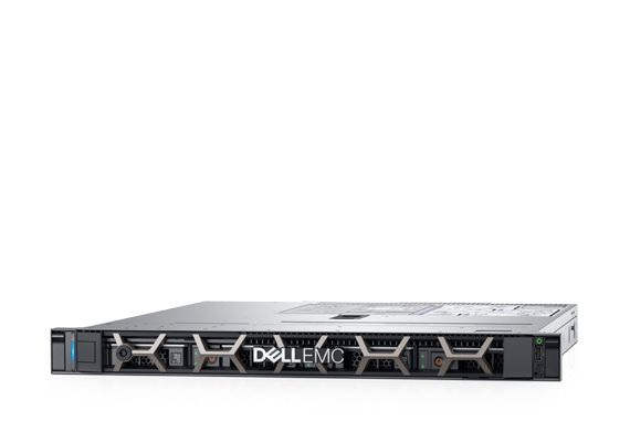 Dell PowerEdge R340 1U Rack, Intel Xeon E-2136 (3.3GHz,  12M Cache, 6C/12T, 80W), 16GB UDIMM DDR4 RAM, 480GB SATA Read Intensive SSD (up to 4 3,5″ Hot Plug) PERC H330, no ODD, iDRAC9 Basic, LAN Dual Port 1GBE, TPM 1.2, Single Hot Plug 350W PSU