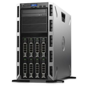 Dell PowerEdge T440 Tower, Dual Intel Xeon Silver 4110 (2.10GHz, 8C/16T, 11M, 85W), 32GB (2*16GB) RDIMM RAM, 400GB SSD Mix Use (up to 8 3,5″ Hot Plug HDD), PERC H730P 2GB RAID, iDRAC9 Express, DP 1GBE LAN, SingleHot-plug PSU 750W