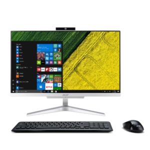 All-in-One PC – 21.5″  ACER Aspire C22-865 FullHD +W10H (DQ.BBRME.004) Intel¢î Core¢î i3-8130U up to 3,4GHz, 4GB DDR4 RAM, 1TB HDD, no ODD, CR, Intel¢î HD 620 Graphics, HD cam, Wi-Fi-AC/BT4.0, GigaLAN, 65W PSU, Win10 Home SL, Wireless KB/MS, Silver