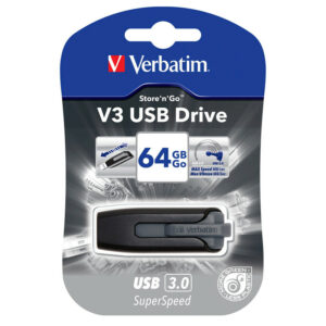 USB Flash Drive 64GB Verbatim Store'n' go USB3.0 49174
