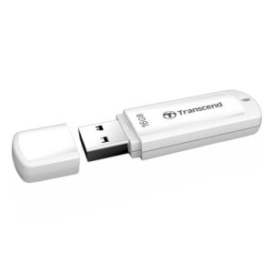"16GB USB3.1 Flash Drive Transcend ""JetFlash  730"", White, Classic Cap (R/W:90/20MB/s)"