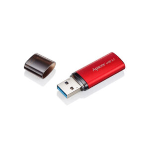 "16GB USB3.1 Flash Drive Apacer ""AH25B"", Sunrise Red, Matte Metal Shell, Classic Cap (AP16GAH23BB-1)"