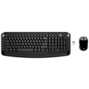 HP Wireless Keyboard and Mouse 300, Black